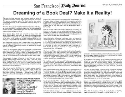 Dreaming of a Book Deal? Make it a Reality!