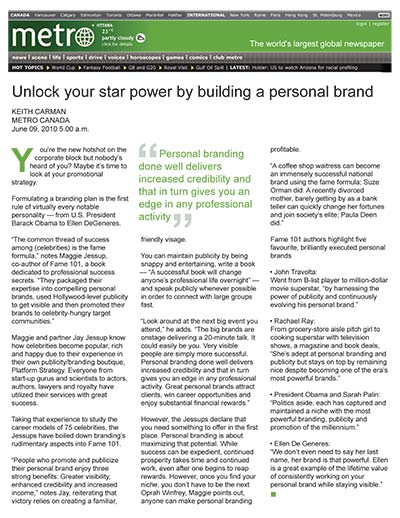 Unlock your star power by building a personal brand